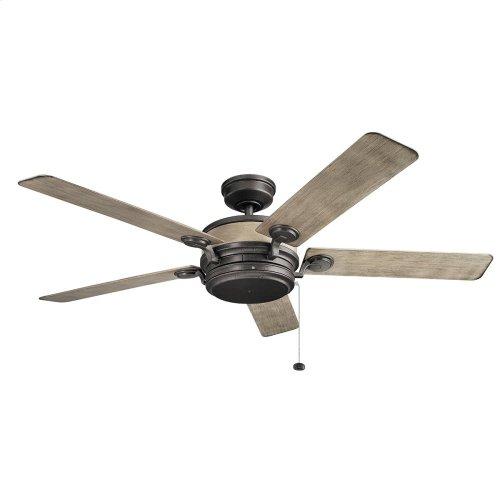 "Uma 60"" Fan Anvil Iron"