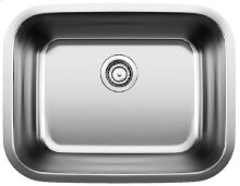 Blanco Stellar® Laundry Undermount - Stainless steel refined brushed finish