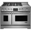 "Pro-Style(r) 48"" Gas Range With Griddle And Multimode(r) Convection"