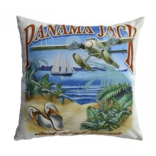Jack of all Travels Throw Pillow