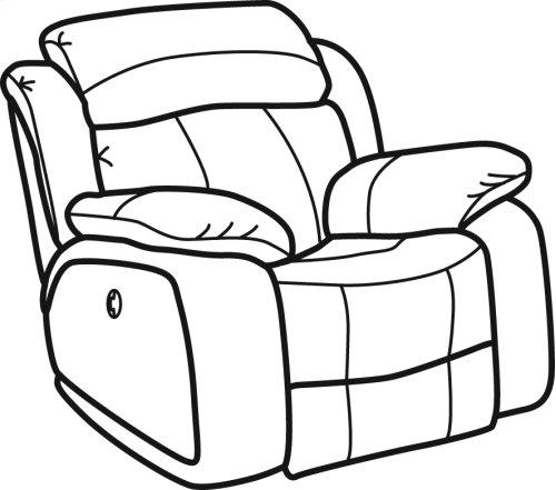 Como Fabric Gliding Recliner