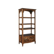 office@home Rue De Bac Open Shelvng with File