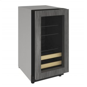 "U-Line 2000 Series 18"" Beverage Center With Integrated Frame Finish And Field Reversible Door Swing (115 Volts / 60 Hz)"