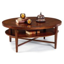 Regency Oval Cocktail Table