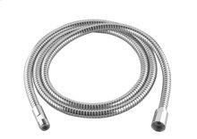 Metal shower hose 49-1/4 - chrome