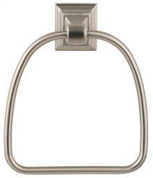 Satin Nickel Stonegate Towel Ring