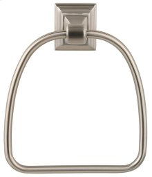Satin Nickel Stonegate Towel Ring