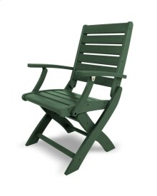 Green Signature Folding Chair