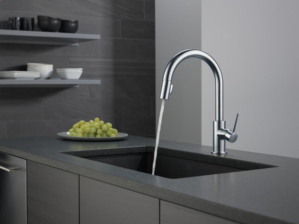 Hidden · Additional Arctic Stainless Single Handle Pull Down Kitchen Faucet