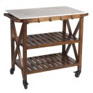 Marble Top Bar Cart Product Image
