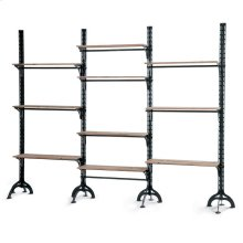 Lfd - Large Ten Shelf Wall Unit