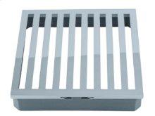 Mountain Re-Vive - Designer Series Linear Shower Grid (Brass Sleeve) - Brushed Nickel