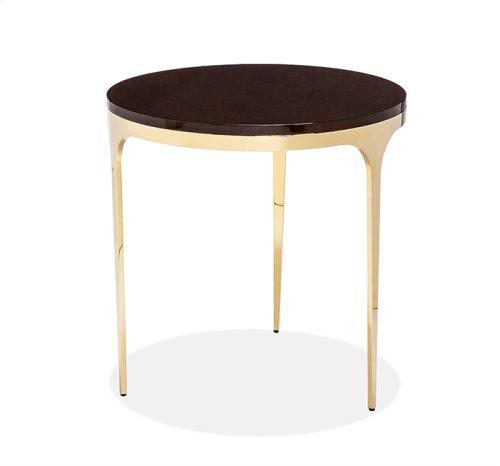 Camilla Side Table - Figured Eucalyptus