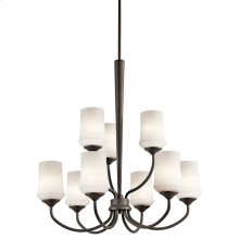 Aubrey Collection Aubrey 9 light Chandelier OZ