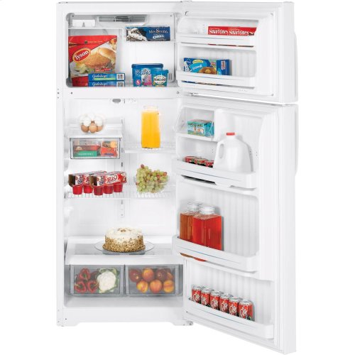 Used GE® 18.2 Cu. Ft. Top-Freezer Refrigerator
