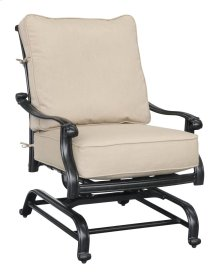 Emerald Home Versailles Spring Lounge Chair-sunbrella Beige Cushions-onyx Cast Aluminum Frame-ou1045-04-1-05