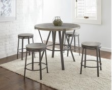 "Portland Counter Stool ROUND 16""x24""H"
