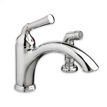 Polished Chrome Portsmouth Single- Contol Kitchen Faucet w/ Side Spray