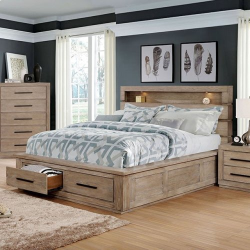 Queen-Size Oakburn Bed