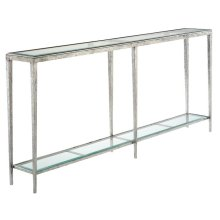 JINX LARGE NICKEL CONSOLE