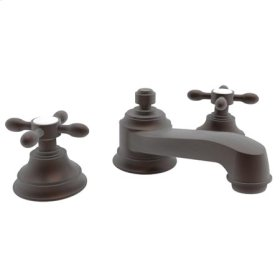 Weathered-Copper-Living Widespread Lavatory Faucet