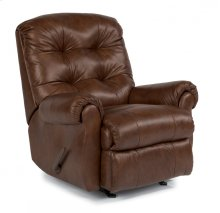 Torrence Leather Swivel Gliding Recliner