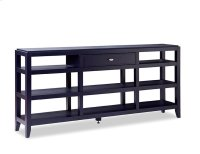 Open Console Cabinet Product Image