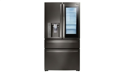 LG Black Stainless Steel Series 23 cu. ft. InstaView Door-in-Door® Counter-Depth Refrigerator