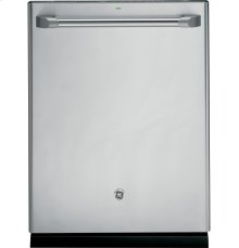 GE Café Series Stainless Interior Built-In Dishwasher with Hidden Controls (Floor Model)