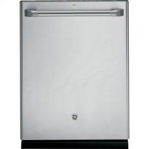 CafeGe Series Stainless Interior Built-In Dishwasher With Hidden Controls