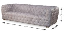 Medium Stanley Sofa, Gray