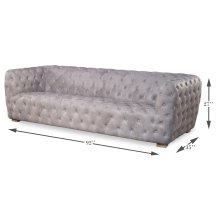 Medium Stanley Sofa, Gray