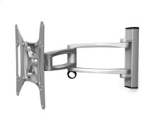 Dyno 102 Small Articulating TV Mount, Silver
