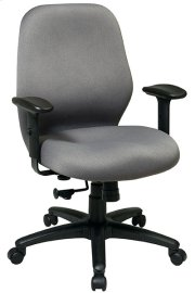 2-to-1 Synchro Tilt Managers Chair with Adjustable PU Padded Arms Product Image