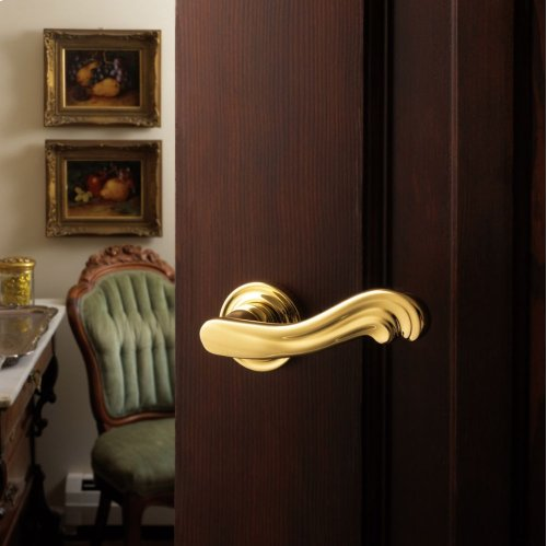 Lifetime Polished Brass 5108 Estate Lever