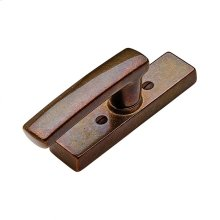 Metro Tilt & Turn Window Escutcheon - EW225 Silicon Bronze Brushed