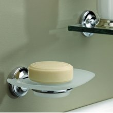 Wall Mounted Glass Soap Dish