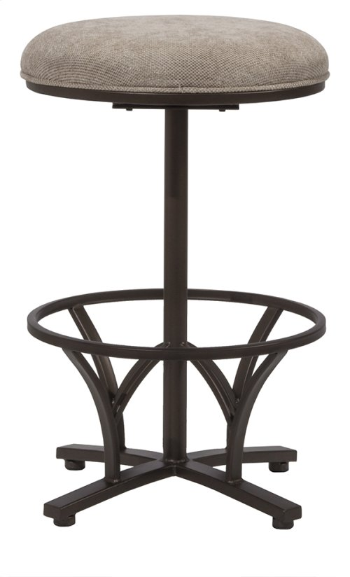 Keckley Commercial Swivel Counter Stool