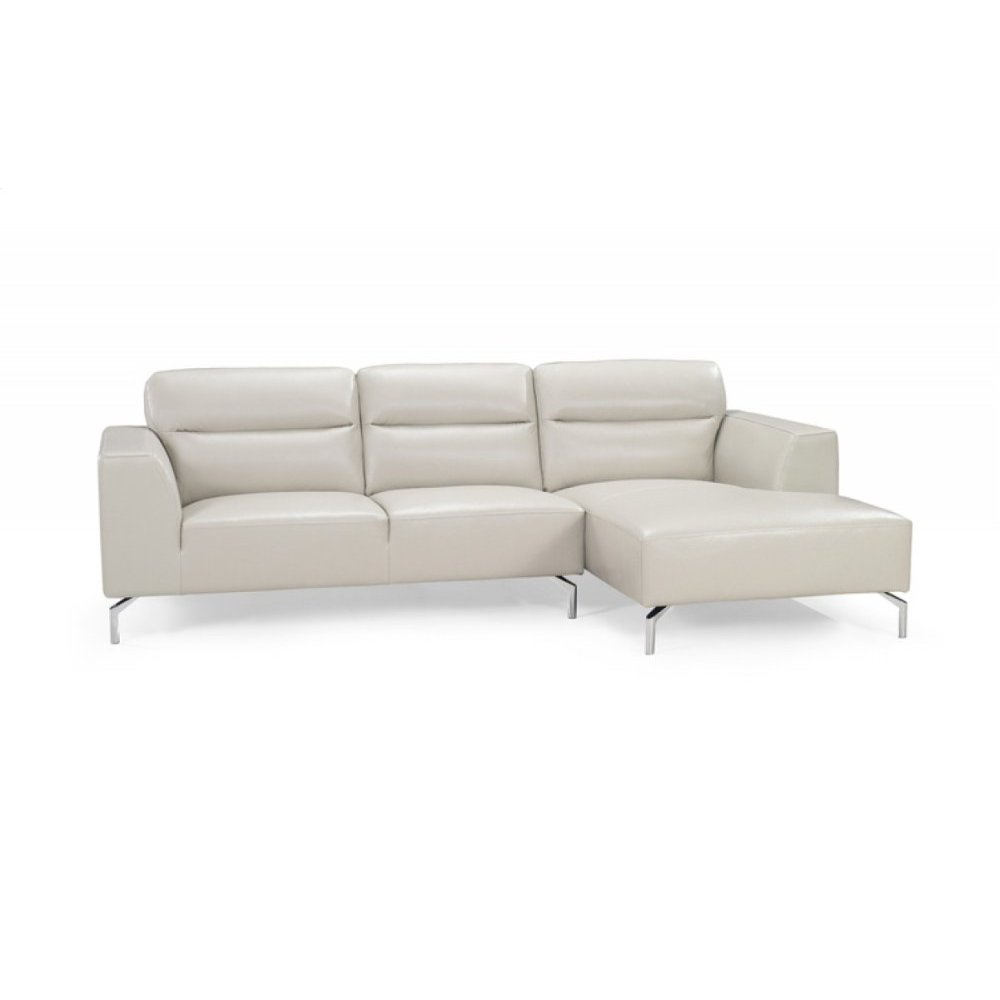 Divani Casa 0881 Modern Leather Sectional Sofa