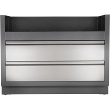 OASIS Under Grill Cabinet for Built-in LEX 730 , Grey