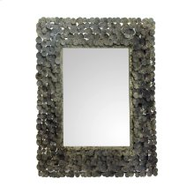 Moon Shadow Mirror Rectangular Antique