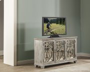 Malbec Console Table - Rubbed Gray Product Image