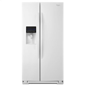 Whirlpool26 Cu. Ft. Side-By-Side Refrigerator With Tap Touch Controls