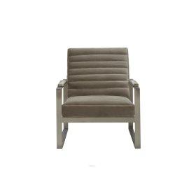 MASON Pewter Metal Chair