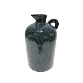 "Ceramic 10.25"" Pitcher, Blue/purple"