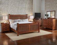 Cal King Slat Bed