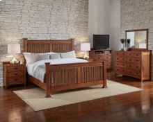 Cal King Slat Bed