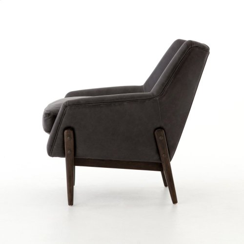 Dottie Leather Club Chair