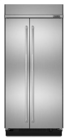 """42"""" Pro-Style® Built-In Side-by-Side Non-Dispenser Refrigerator"""