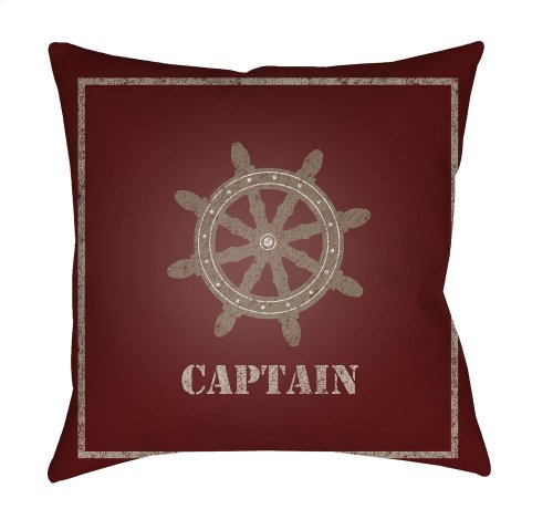 "Captain LAKE-004 18"" x 18"""